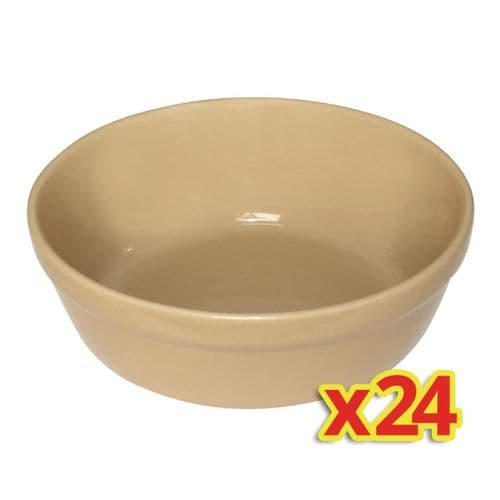 Special Offer - Olympia Round Earthenware Pie Bowls (Pack of 24)